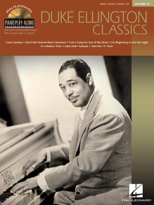 Duke Ellington - Piano Play-Along Volume 39 - Duke Ellington Classics - Partition - di-arezzo.fr