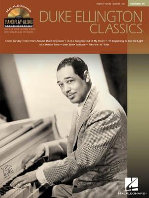 Duke Ellington - Piano Play-Along Volume 39 - Duke Ellington Classics - Sheet Music - di-arezzo.com