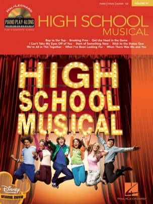 Piano Play-Along Volume 51 - High School Musical - laflutedepan.com