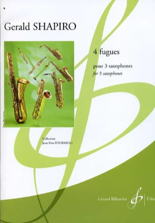 Gerald Shapiro - 4 Fugues - Partition - di-arezzo.fr