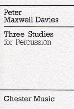 Three Studies - Davies Peter Maxwell - Partition - laflutedepan.com