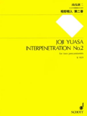 Interpenetration N° 2 - Joji Yuasa - Partition - laflutedepan.com
