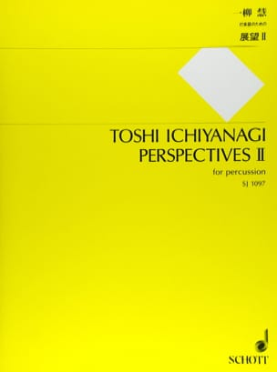 Toshi Ichiyanagi - Perspectives II - Partition - di-arezzo.fr