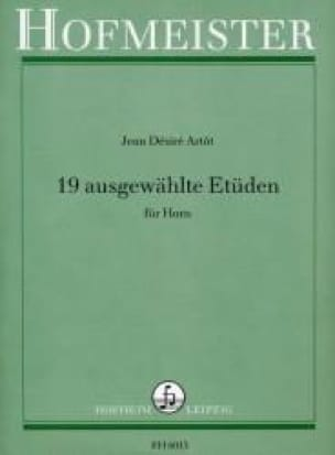 Jean Désiré Artôt - 19 Ausgewählte Etüden - Sheet Music - di-arezzo.co.uk