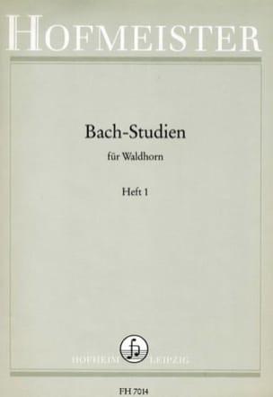 BACH - Bach-Studien Heft 1 - Sheet Music - di-arezzo.co.uk