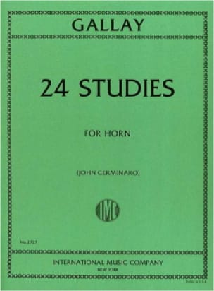 Jacques-François Gallay - 24 Studies For Horn - Sheet Music - di-arezzo.co.uk