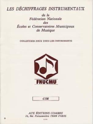 Les Déchiffrages Instrumentaux Partition Cor - laflutedepan