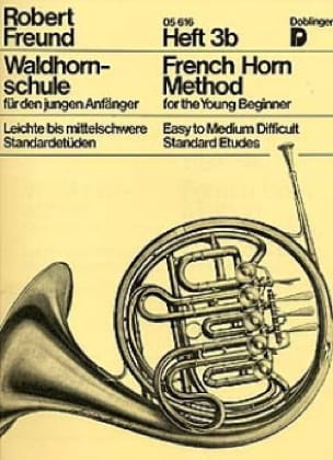 French Horn Method Heft 3b Robert Freund Partition Cor - laflutedepan