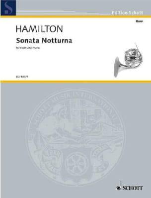 Iain Hamilton - Sonata Notturna - Partition - di-arezzo.fr