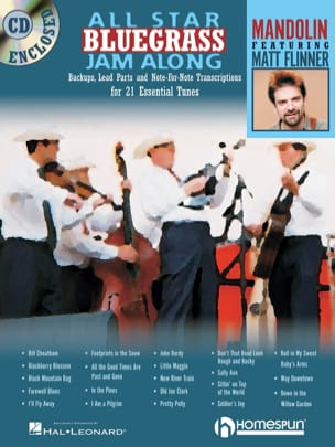 Matt Flinner - All Star Bluegrass Jam Along - Sheet Music - di-arezzo.co.uk