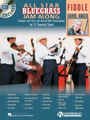 Darol Anger - All Star Bluegrass Jam Along - Partition - di-arezzo.fr