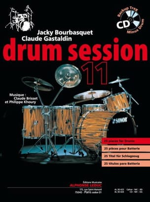 Drum session 11 Bourbasquet Jacky / Gastaldin Claude laflutedepan