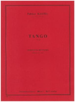 Fabrice Kastel - Tango - Sheet Music - di-arezzo.co.uk