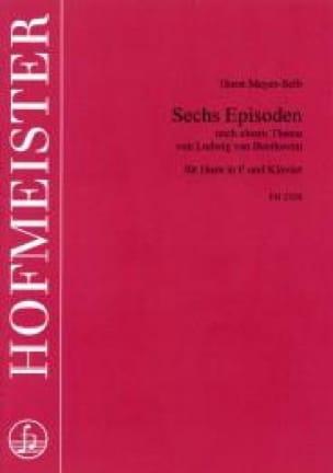 Horst Meyer-Selb - Sechs Episoden - Sheet Music - di-arezzo.com