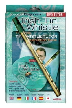 Harry Long - Absolute Beginners Irish Tin Whistle Flute - Sheet Music - di-arezzo.com