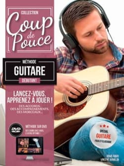 COUP DE POUCE - Beginner Folk Guitar Method - Sheet Music - di-arezzo.com