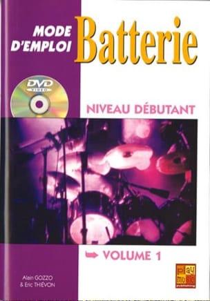 Mode D' Emploi Batterie Volume 1 - laflutedepan.com