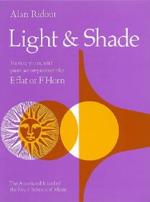 Alan Ridout - Light & Shade - Partition - di-arezzo.fr