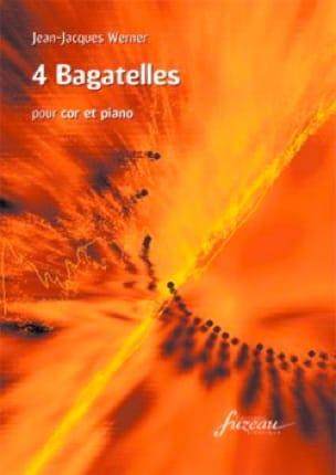 Jean Jacques Werner - 4 Bagatelles - Sheet Music - di-arezzo.co.uk