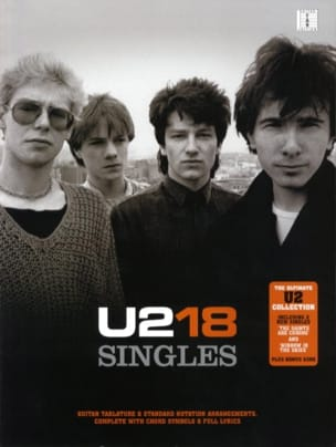U2 - U2 - 18 Singles - Sheet Music - di-arezzo.co.uk