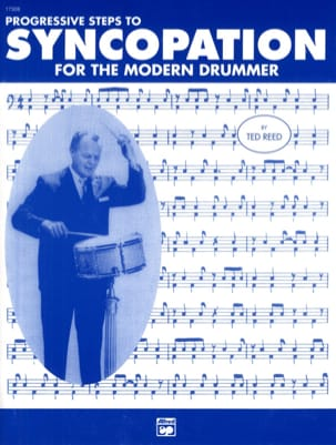 Ted Reed - Progressive Steps To Syncopation For The Modern Drummer - Sheet Music - di-arezzo.co.uk