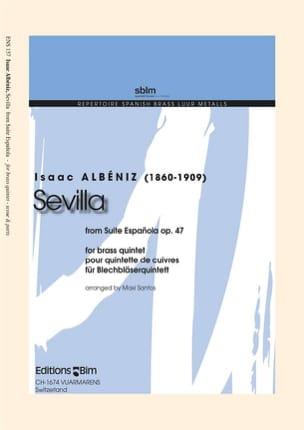 Isaac Albéniz - Sevilla - From Suite Espagnola Opus 47 - Partition - di-arezzo.fr