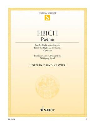 Zdenek Fibich - Poem - Sheet Music - di-arezzo.com