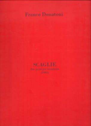 Scaglie Franco Donatoni Partition Trombone - laflutedepan