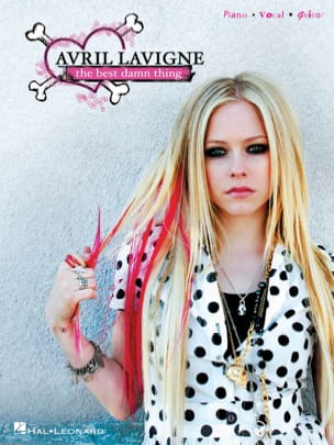 The Best Damn Thing Avril Lavigne Partition Pop / Rock - laflutedepan