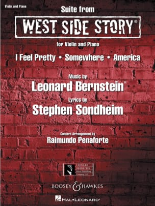 West Side Story BERNSTEIN Partition Violon - laflutedepan