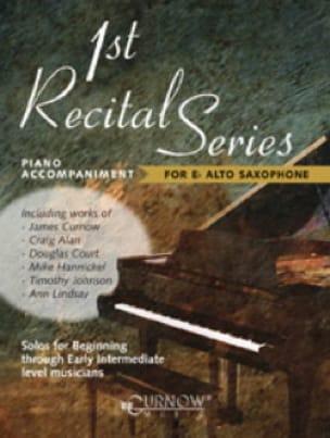 1st recital series Saxo Alto) - Partition - di-arezzo.fr