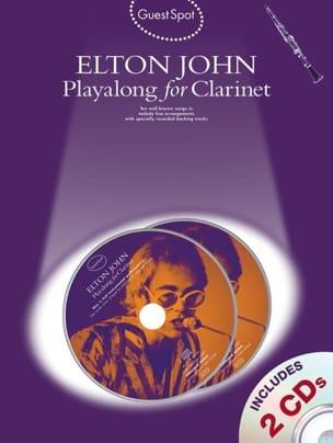 Elton John - Guest Spot - Elton John Playalong For Clarinet - Partition - di-arezzo.fr