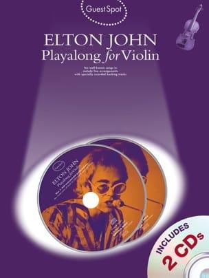 Elton John - Guest Spot - Elton John Playalong For Violin - Partition - di-arezzo.fr