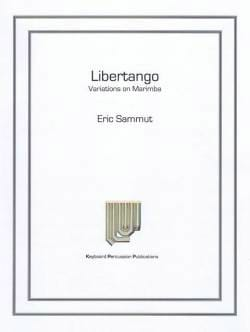 Eric Sammut - Libertango - Variations On Marimba - Sheet Music - di-arezzo.com