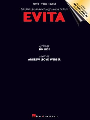 Andrew Lloyd Webber - Evita - Sheet Music - di-arezzo.co.uk