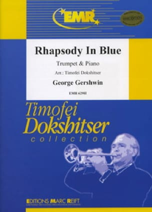 Rhapsody In Blue GERSHWIN Partition Trompette - laflutedepan
