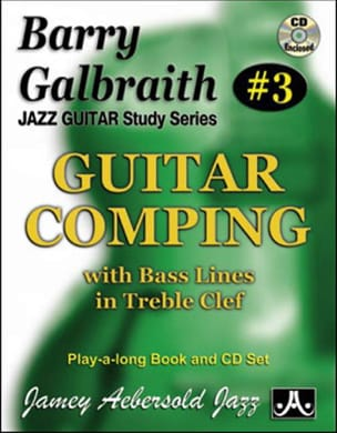 Guitar comping # 03 - With bass line in trebble clef laflutedepan