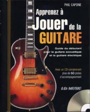 Phil Capone - Learn To Play Guitar - Partition - di-arezzo.com