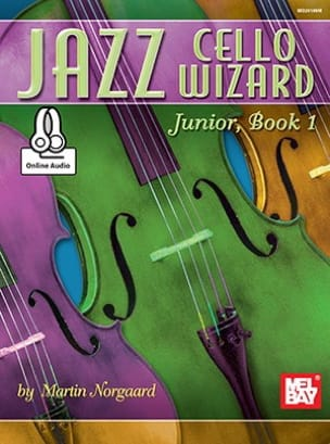 Martin Norgaard - Jazz Cello Wizard Junior Book 1 - Sheet Music - di-arezzo.co.uk