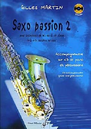 Gilles Martin - Saxo Passion 2 - Partition - di-arezzo.fr