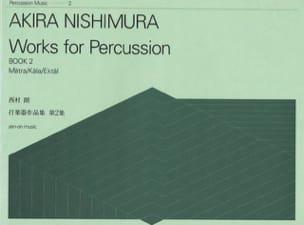 Works For Percussion Book 2 - Akira Nishimura - laflutedepan.com
