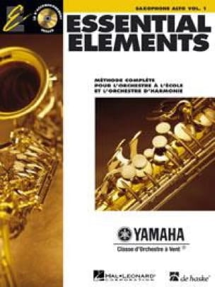 Essential Elements. Saxophone Alto Volume 1 Partition laflutedepan