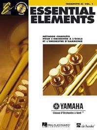 Essential Elements. Trompette Sib Volume 1 Partition laflutedepan