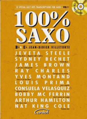 100% sax volume 1 - Partition - di-arezzo.com