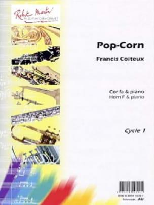 Francis Coiteux - Pop corn - Sheet Music - di-arezzo.com