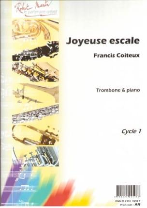 Joyeuse escale Francis Coiteux Partition Trombone - laflutedepan
