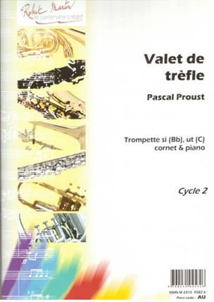 Pascal Proust - Valet of clover - Sheet Music - di-arezzo.com