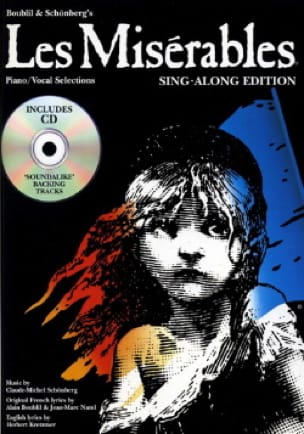 Claude Michel Schönberg - The Miserables Sing-Along Edition - Partition - di-arezzo.co.uk