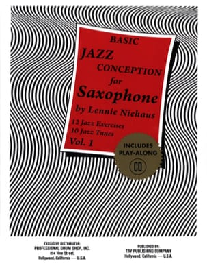 Basic Jazz Conception For Saxophone - Volume 1 laflutedepan