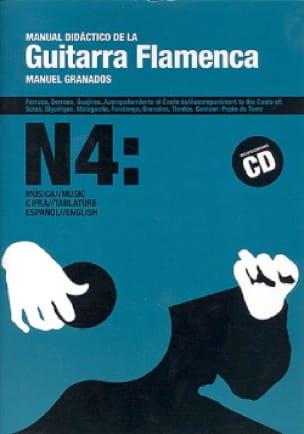 Manual Granados - Handbuch Didaktik der Guitarra Flamenca Nr. 4 - Noten - di-arezzo.de